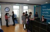 Recepce jazykové školy Inlingua Berlín, Německo