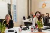 Recepce jazykové školy LSF Montpellier