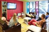 Relaxační místnost na škole British Study Centres v Edinburgh