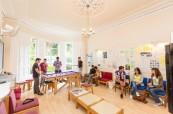 Společenské prostory školy ELC Bristol