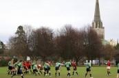 Zápas v Rugby, Chichester v Anglii