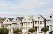 Typické domečky v San Franciscu