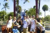 Studenti letního jazykového kurzu angličtiny na škole LAL Fort Lauderdale v USA