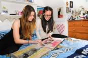 Studenti jsou ubytovaní v hostitelských rodinách, střední škola v Anglii - Brockenhurst College