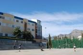 Hřiště u školy Colegio Maravillas, Benalmádena, Španělsko