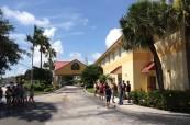 Budova jazykové školy LAL Fort Lauderdale na Floridě v USA