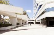 Budova jazykové školy EC Los Angeles v USA