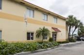 Budova školy LAL Fort Lauderdale v USA