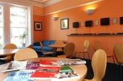 Společenské prostory školy Centre of English Studies Harrogate