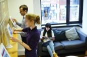 Studenti anglického jazyka na škole LAL Londýn Twickenham mohou využívat i moderní informační technologie a mají přístup na wi-fi v budově školy zdarma