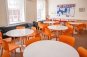 Společné prostory pro studenty jazykového kurzu na škole CES Leeds