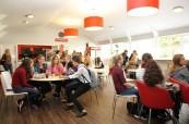 Společné prostory pro studenty anglického jazyka na škole LAL Torbay