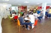 Společné prostory pro studenty na škole LILA Liverpool