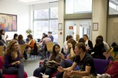 Studenti jazykového kurzu na škole Wimbledon School of English