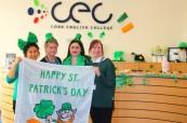 Pokud oslavíte Den svatého Patrika v Irsku, budete mít nezapomenutelný zážitek na celý život, Cork English College