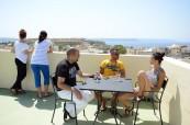 Studenti mohou využívat prostornou terasu, LAL-IELS Gozo Malta