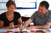 V jazykové škole Meridian School of English mají lektoři ke studentům individuální přístup, Meridian School of English Plymouth