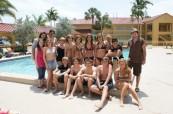 Prostory školy LAL Fort Lauderdale v USA s bazénem