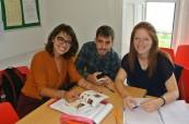 Studenti jazykového kurzu na škole ATC Dublin v Irsku