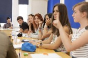 Výuka anglického jazyka během letního kurzu pro děti a mládež EC Brighton