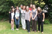 Absolventi učitelského kurzu probíhajícím na škole BEET-ITTC v Bournemouth Anglie