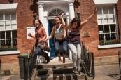Studenti jazykového kurzu na škole CES v Leeds