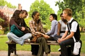 Studenti jazykového kurzu na škole Concorde Internationanl v Canterbury