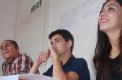 Studenti jazykového kurzu Concorde International v Canterbury