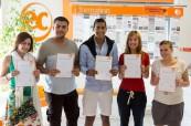Po absolvování jazykového kurzu obdrží studenti závěrečný certifikát, EC Malta