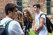 Studenti anglického jazyka na letním programu na škole BSC York