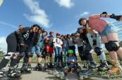 Studenti letního kurzu na škole LTC Eastbourne