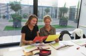 Výuka probíhá v moderních zrekonstruovaných prostorech, kde je studentům příjemně, International House Valencie