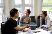 Studenti jazykového kurzu v Londýně na škole British Study Centres