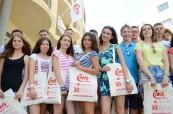 Studenti letního jazykového kurzu pro mládež na Maltě