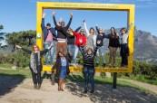 Studenti angličtiny v Jihoafrické republice během volnočasových aktivit, které pro ně chystá škola LAL Cape Town