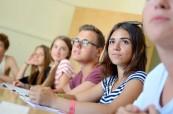 Studenti anglického jazyka během výuky na škole LAL Malta Sliema