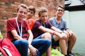 Studenti angličtiny na letním zahraničním kurzu na škole BSC York