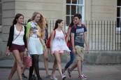 Studenti anglického jazyka na letním kurzu, BSC Oxford