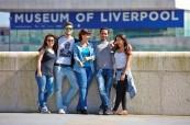 Studenti na jazykovém pobytu v zahraničí, LILA Liverpool