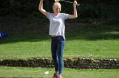 Někteří studenti školy LTC Eastbourne na golfu
