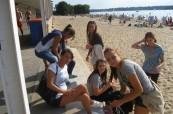 Studenti němčiny na výletě, Inlingua Berlín