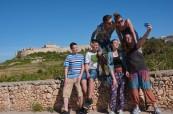 Studenti při objevování Malty