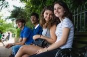 Studenti během výletu po výuce anglického jazyka, BSC London