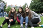 Studenti anglického jazyka během letního jazykového kurzu angličtiny, ATLAS Dublin Irsko