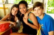 Studenti letního jazykového kurzu pro mládež, LSF Montpellier, Francie
