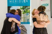 Studenti na jazykovém pobytu v zahraničí, Meridian School of English Plymouth