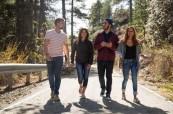 Studenti během procházky po ostrově, English in Cyprus, Limassol, Kypr