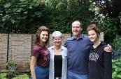 Hostitelská rodina se studentkami na jazykovém pobytu v Chesteru