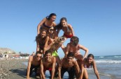 Trávení volného času na pláži není nikdy dostatek, English in Cyprus, Limassol, Kypr