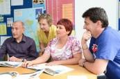 Studenti jazykového kurzu angličtiny pro manažery, English in Chester Anglie
